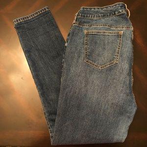 *TORRID* Med Wash Curvy Skinny Denim Jeans Size 14